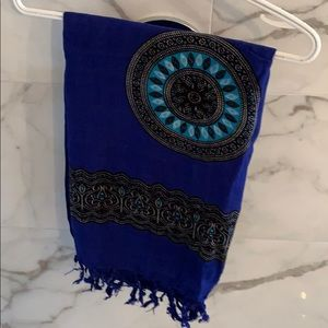 Accessories - Vacation sarong in blue